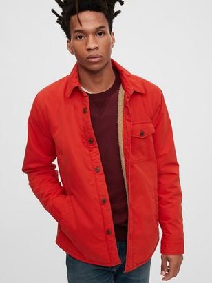 Gap Cozy Shirt Jacket