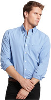 Izod Men's Long Sleeve Checkered Essential Shirt