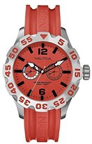 Nautica Men's Quartz Watch with Dial Chronograph Display and Resin Strap A16602G