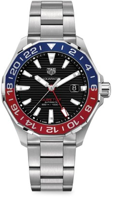 Tag Heuer Aquaracer 43MM Stainless Steel & Two-Tone Aluminum Automatic Bracelet Watch