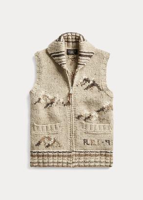 Ralph Lauren Hand-Knit Sweater Vest