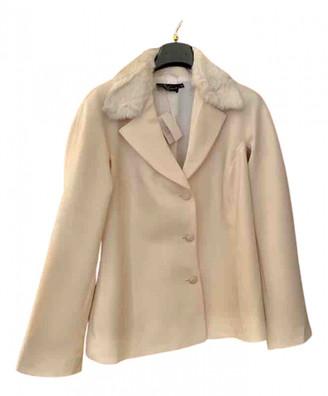 Non Signã© / Unsigned Oversize Ecru Wool Jackets