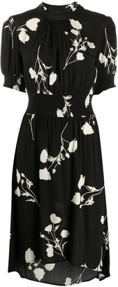 BA&SH Poppy floral-print midi dress