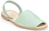 Plomo Abarca Menorquina - Apple Leather Slingback Sandal