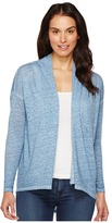 TWO by Vince Camuto - Long Sleeve Pigment Dye Drape Front Cardigan Women's Sweater