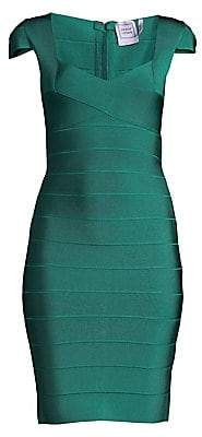 Herve Leger Women's Bandage Cocktail Dress