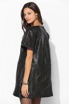 Babydoll Rag Union X Urban Renewal Leather Dress