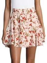 Lovers + Friends Printed Fountain Mini Skirt