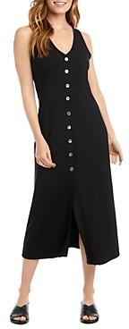 Karen Kane Alana Button-Front Midi Dress