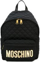 Moschino quilted backpack - women - Acrylic/Nylon - One Size