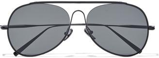 Acne Studios Aviator-style Metal Sunglasses