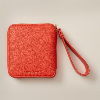 Love & Lore Love And Lore Looped Tab Wallet Red