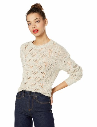 Lucky Brand Women's Donegal NEP Pullover Sweater