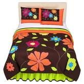 Bacati Valley of Flowers Full/Queen Comforter set