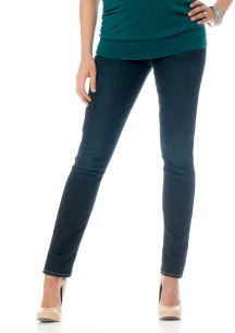 A Pea in the Pod 7 For All Mankind Secret Fit Belly® Signature Pocket Slim Leg Maternity Jeans