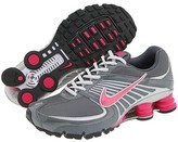 Nike - Nike Shox Turbo+ 8 (Dark Grey/Vivid Pink-Metallic Silver-Neutral Grey)