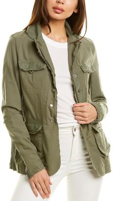 Jakett Meryl Leather-Trim Jacket