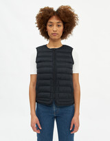 Herschel Women's Featherless Vest in Black, Size Large