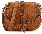 Bed Stu Acadia Tooled Leather Saddle Bag