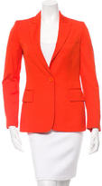 Stella McCartney Fitted Peak-Lapel Blazer