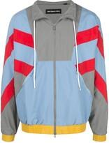 God's Masterful Children colour blocked sport jacket