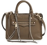 Rebecca Minkoff 'Micro Regan' Satchel - Metallic