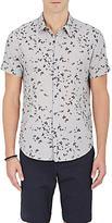 Theory Men's Zack S Linen-Cotton Shirt