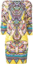 Roberto Cavalli abstract print shift dress - women - Viscose - 42