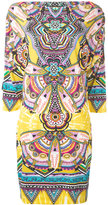 Roberto Cavalli abstract print shift dress - women - Viscose - 44