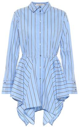 Dorothee Schumacher Striped stretch cotton-blend shirt