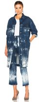 Stella McCartney Tie Dye Denim Jacket