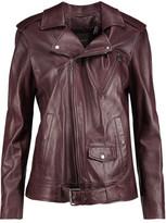 Theory Tralsmin Leather Jacket