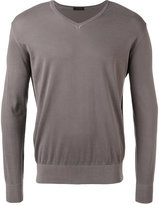 Z Zegna longsleeve sweater - men - Cotton - S
