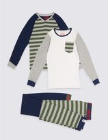 Marks and Spencer 2 Pack Pyjamas (7-16 Years)