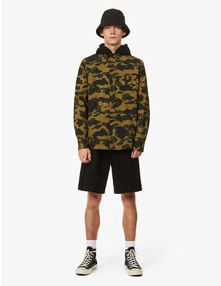 A Bathing Ape 1st Camo camouflage-print slim-fit cotton shirt