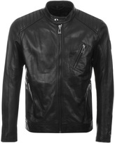 Belstaff V Racer Leather Jacket Black