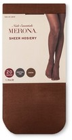 Merona Women's Tights Cocoa 20D Sheer Control Top Collection