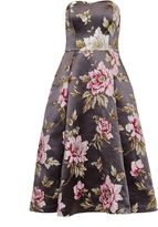 Ted Baker Bernica Floral jacquard full midi dress