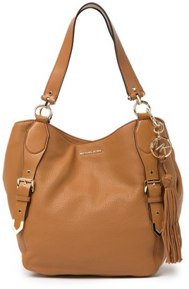 MICHAEL Michael Kors Brooke Large Leather Shoulder Bag