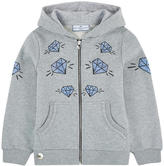 Philipp Plein Graphci hoodie with rhinestones