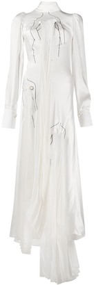 Seen Users Asymmetric Maxi Dress
