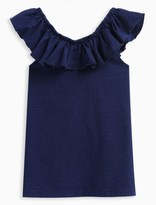 Splendid Girl Indigo Peasant Top