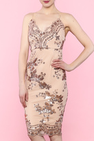 L'atiste Rose Sequin Dress