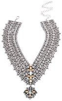 Dannijo Sorella Crystal Statement Necklace