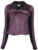 June Leather jacket