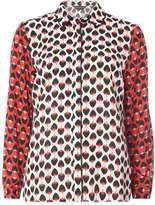 Dorothy Perkins Red Strawberry Print Shirt