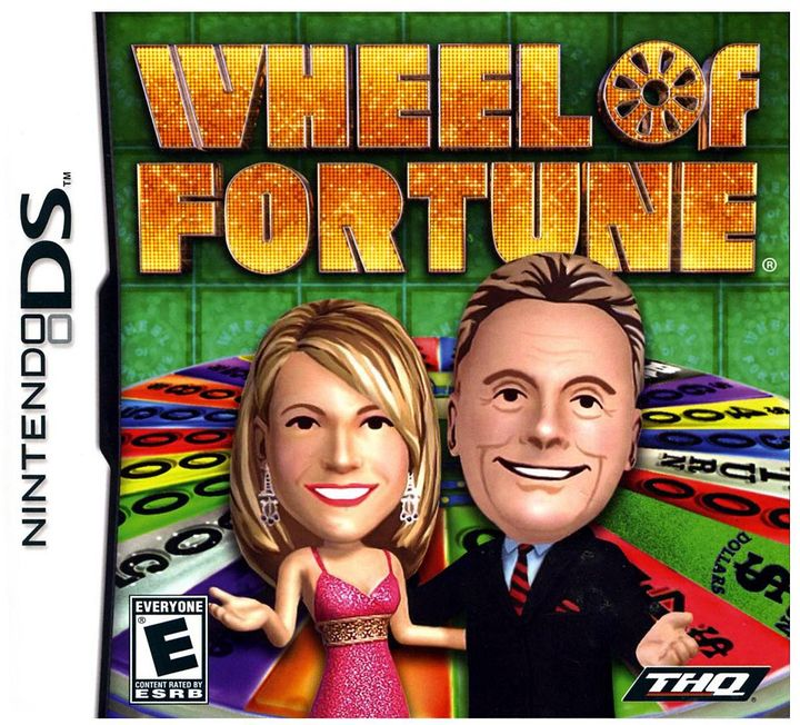 Nintendo Wheel of fortune for ds