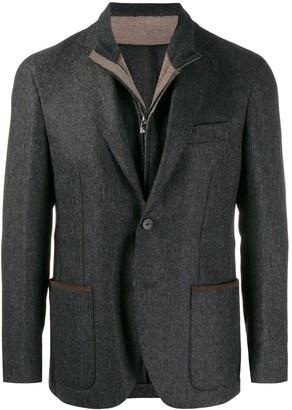 Corneliani Giacca layered blazer