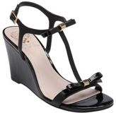 Vince Camuto Hattel Patent Leather Wedge Sandals