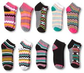 Modern Heritage Women's Socks 10-Pack - Black One Size